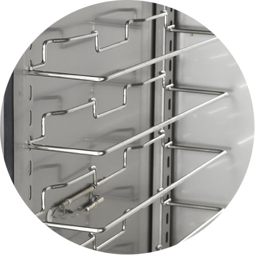 Adjustable Proofer Slides, Stainless Steel