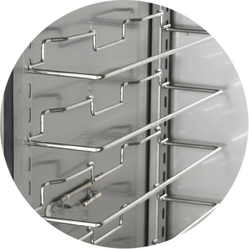 Adjustable Proofer Slides, Stainless Steel