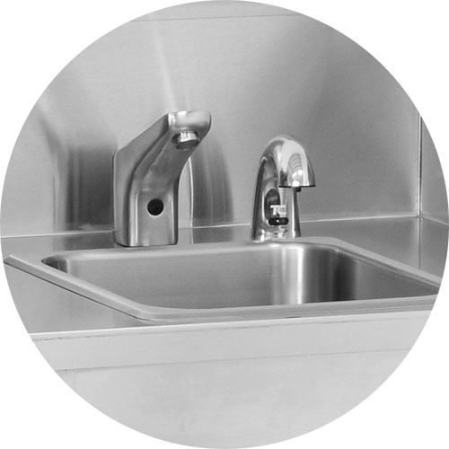 Built in Electric Hand Sink