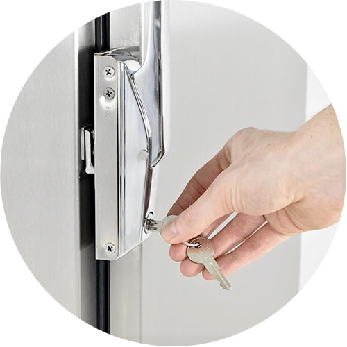 Key Locking Door Latch