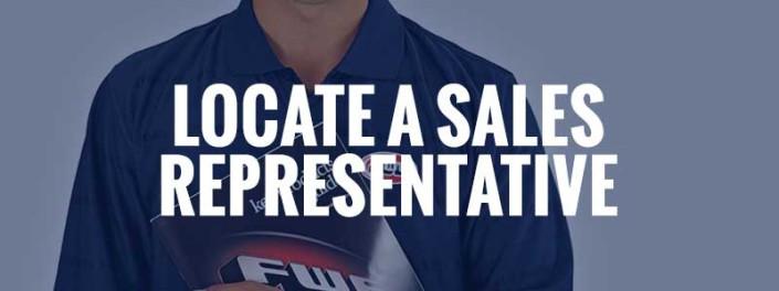 Locate A Sales Representative