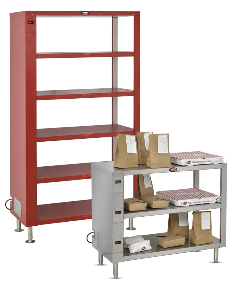 FWE / Food Warming Equipment Company, Inc. • What's New • Heated Holding Shelves • Various Models Available