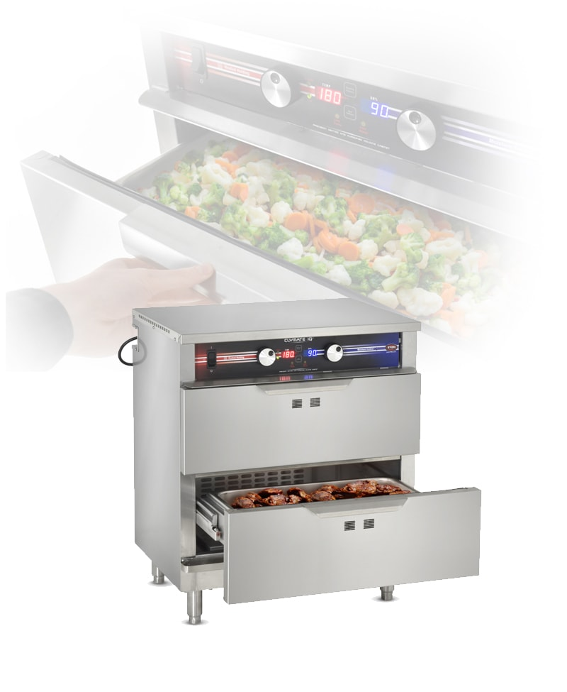 FWE / Food Warming Equipment Company, Inc. • What's New • Precise Humidity Temperature Technology Drawers • Standard & Side Load Models Available